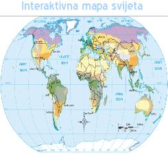 Interaktiva mapa svijeta